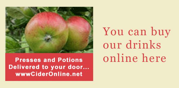 Who sells our elderflower cordials & presses? on